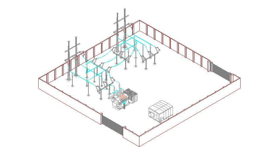 3d dasl index for Substation design